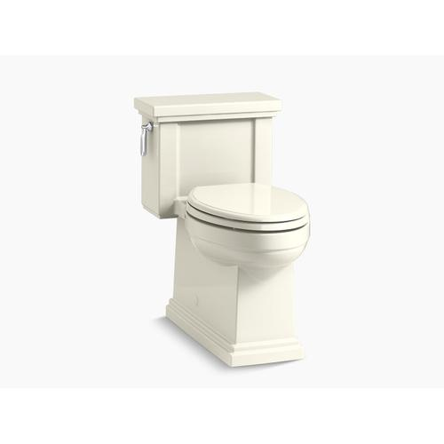 Kohler - Biscuit One-piece Compact Elongated 1.28 Gpf Chair Height Toilet With Quiet-close(tm) Seat