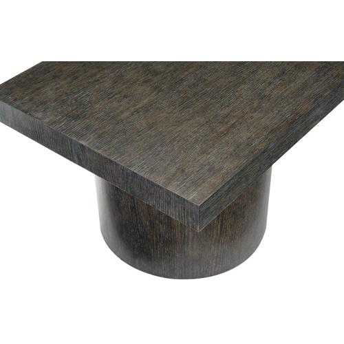 Gallery - Linea Rectangular Cocktail Table in Cerused Charcoal (384)