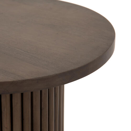 Rutherford End Table-ashen Brown