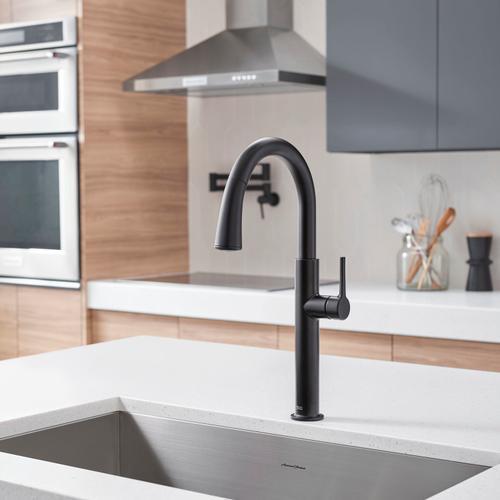 Studio S Pull-Down Dual Spray Kitchen Faucet  American Standard - Matte Black