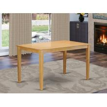 """Capri Rectangular Counter Height dining table 36""""x60"""" with solid wood top"""