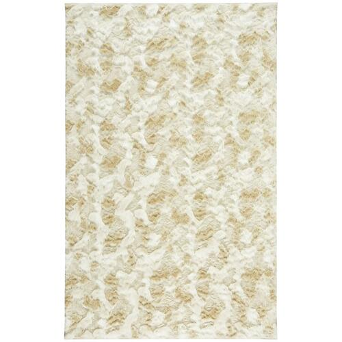 "Luxe Shag Artic Cream - Rectangle - 24"" x 36"""