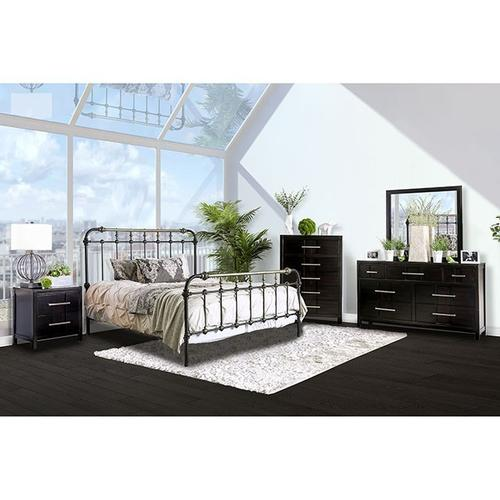 Riana Queen Metal Bed by Furniture of America #7733 Available in Queen or Full Size