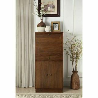 ACME Wiesta Wine Cabinet - 97543 - Walnut