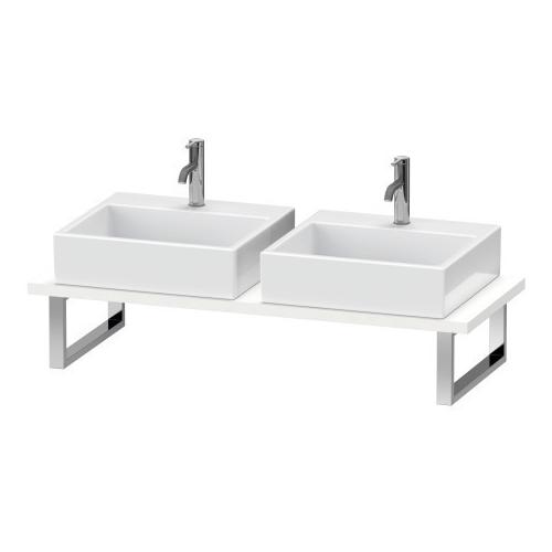 Duravit - Console For Above-counter Basin And Vanity Basin, White Matte