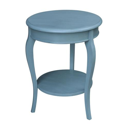 John Thomas Furniture - Cambria Accent Table in Ocean Blue