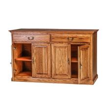 See Details - Forest Designs Traditional Oak Buffet: 60W x 36H x 18D - 54w