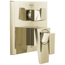 See Details - Polished Nickel Two-Handle Monitor 17 Series Valve Trim with 6-Setting Diverter