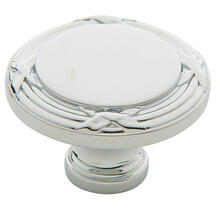 Polished Chrome Round Edinburgh Knob