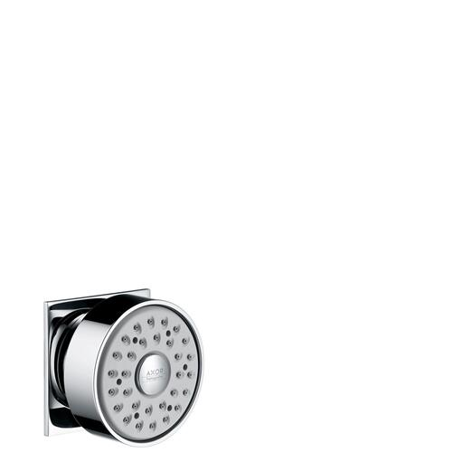 Chrome Body shower square 1jet