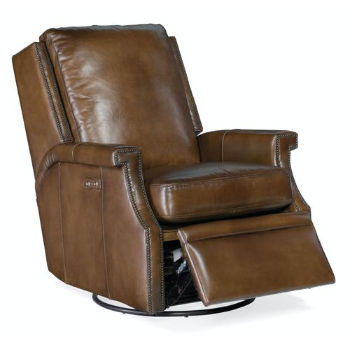 Living Room Collin PWR Swivel Glider Recliner