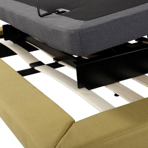 Symmetry ZERO Clearance Adjustable Bed Base with Head and Foot Articulation, Queen