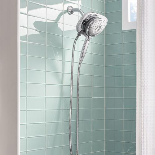 Spectra Plus Duo 4-Function 2-in-1 Shower Head  American Standard - Polished Chrome
