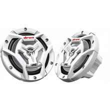 "[WHITE] 6-1/2"" 2-Way Coaxial Speakers"