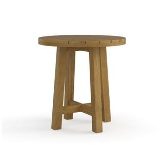 Martin Teak Tables Round Side Table