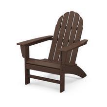 Vineyard Adirondack Chair in Mahogany