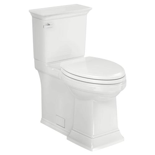 Town Square S Right Height Elongated Toilet with Seat  American Standard - White