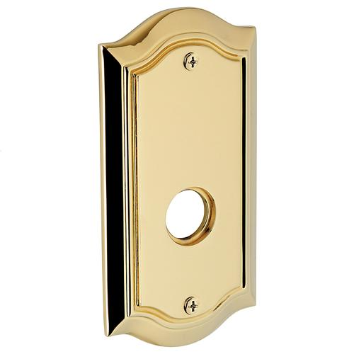 Baldwin - Non-Lacquered Brass R028 Bethpage Rose