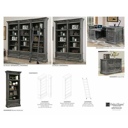 Product Image - GRAMERCY PARK Museum Ladder (only to be used with Library Wall)