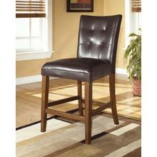 See Details - Lacey - Medium Brown Set Of 2 Dining Room Barstools