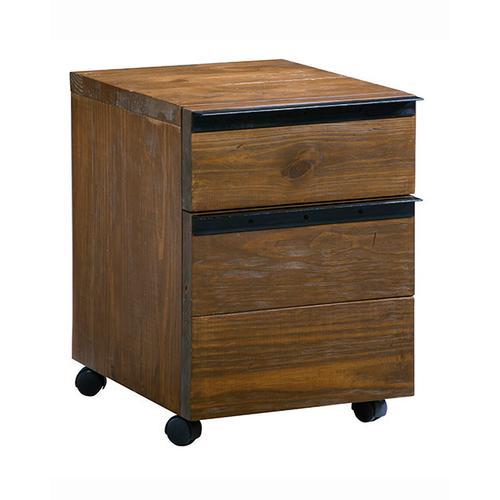 Desk Companion - Russet Pine/Black Finish
