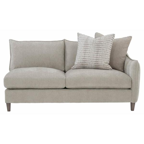 Joli Right Arm Loveseat in Aged Gray (788)