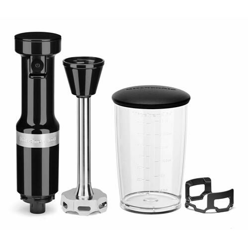 KitchenAid - Variable Speed Corded Hand Blender - Onyx Black