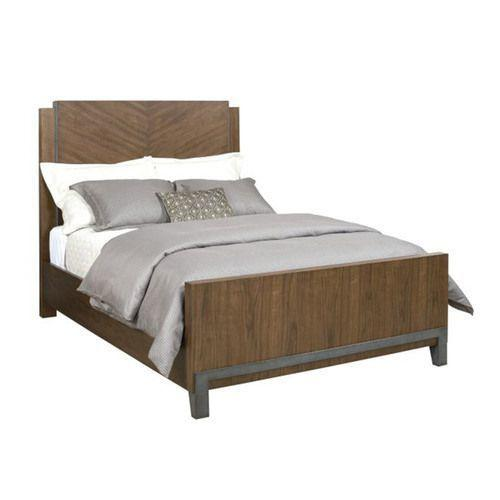 AD Modern Synergy Chevron Walnut Cal King Bed Package