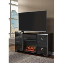 Amrothi TV Stand With Fireplace