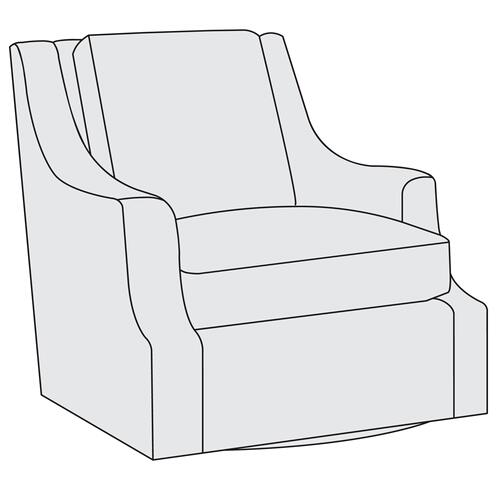 Bernhardt - Larson Swivel Chair