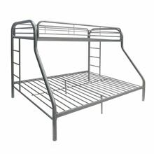 ACME Tritan Twin XL/Queen Bunk Bed - 02052SI - Silver