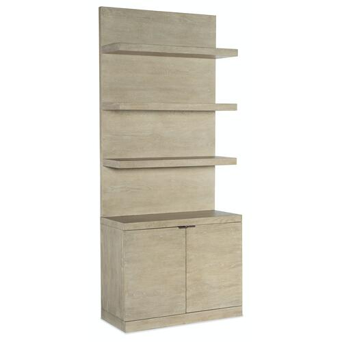 Home Office Cascade Bookcase Base and Hutch