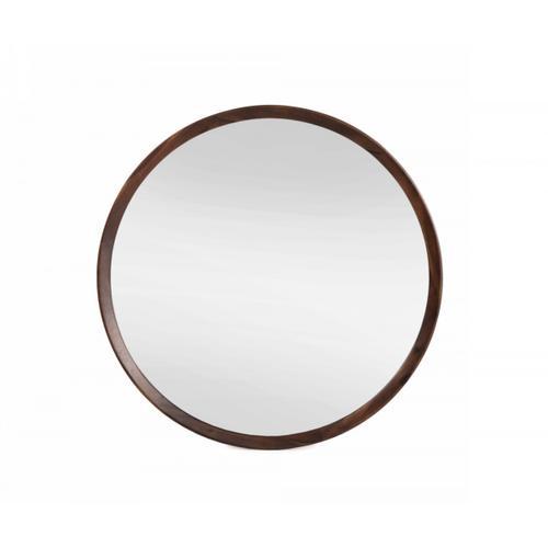 VIG Furniture - Modrest Selena - Modern Round Acacia Mirror