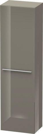 Tall Cabinet, Flannel Gray High Gloss (lacquer)