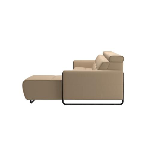 Stressless By Ekornes - Stressless® Emily arm steel 3 seater Power left with Long Seat