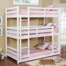 Twin/Twin/Twin Bunk Bed California V