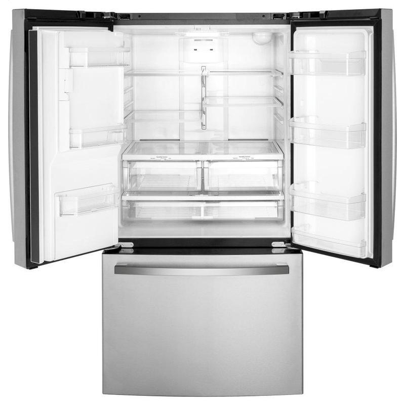 GE® ENERGY STAR® 25.6 Cu. Ft. Fingerprint Resistant French-Door Refrigerator