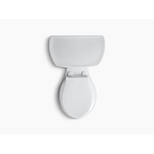 """Kohler - Biscuit Two-piece Round-front 1.28 Gpf Toilet With 14"""" Rough-in"""