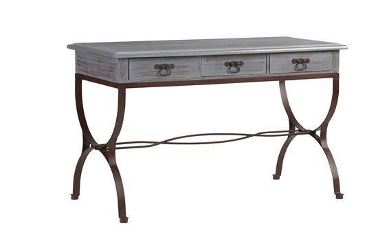 Desk - Rustic Blue Finish