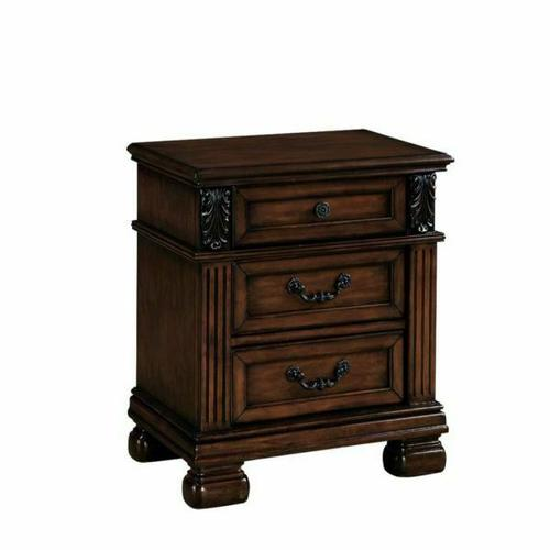ACME Manfred Nightstand - 22773 - Dark Walnut