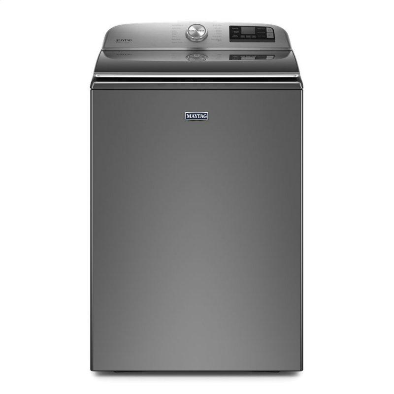 Smart Capable Top Load Washer with Extra Power Button - 5.2 cu. ft.