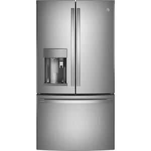 GE Profile™ Series ENERGY STAR® 27.7 Cu. Ft. Smart Fingerprint Resistant French-Door Refrigerator with Keurig® K-Cup® Brewing System Product Image