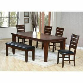 ACME Urbana Dining Table - 04620 - Cherry