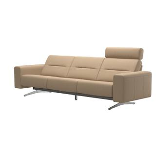 See Details - Stressless® Stella 3 seater with 1 headrest