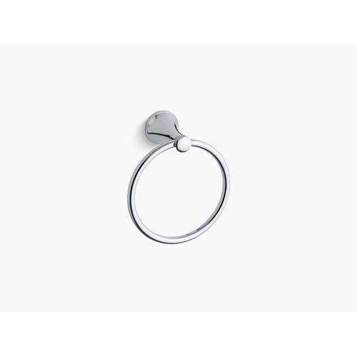 Polished Chrome Towel Ring