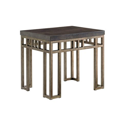 Tommy Bahama - Montera Travertine End Table