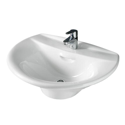 Venice 520 Wall Hung Basin - Single-Hole