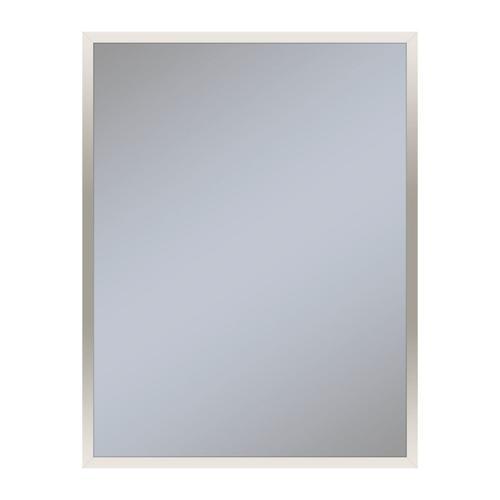 "Profiles 23-1/8"" X 29-7/8"" X 3/4"" Framed Mirror In Polished Nickel"