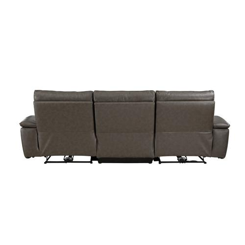 Gallery - Power Double Reclining Sofa with Power Headrests