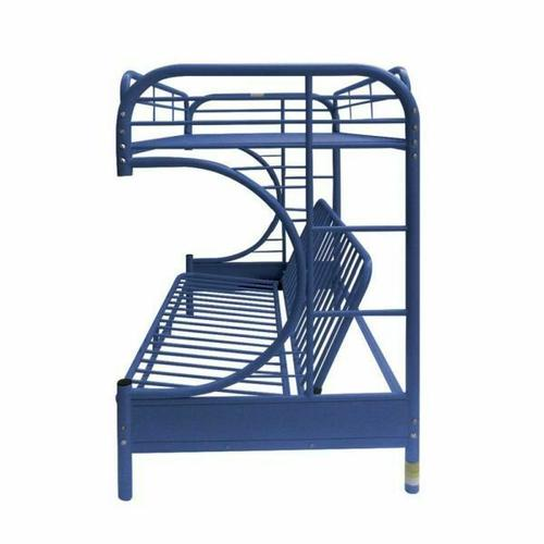 ACME Eclipse Twin/Full/Futon Bunk Bed - 02091W-NV - Navy